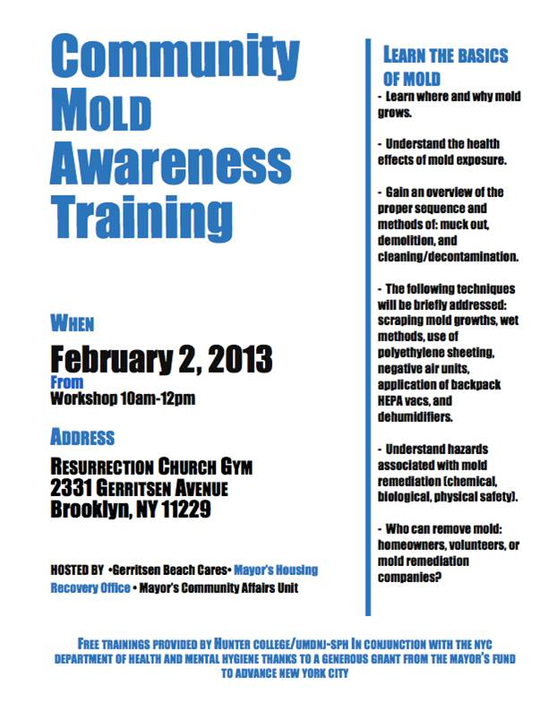 MoldAwarenessTraining Feb2