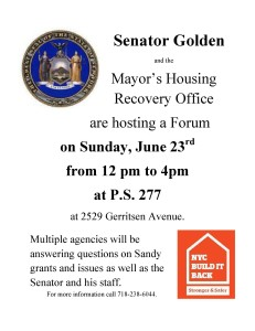 Housing Recovery Forum 6.23.13