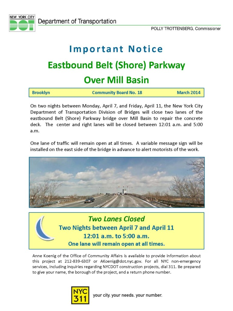 Belt Pkwy over Mill Basin Notice Mar14 (2)