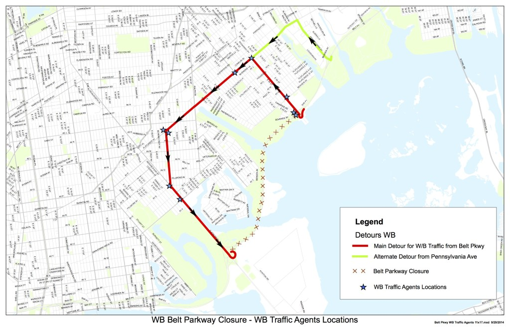 WB Detour route &Traffic Agents
